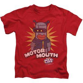 Dubble Bubble Motor Mouth Short Sleeve Juvenile Red T-Shirt