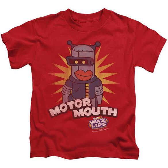 Dubble Bubble Motor Mouth Short Sleeve Juvenile Red T-Shirt