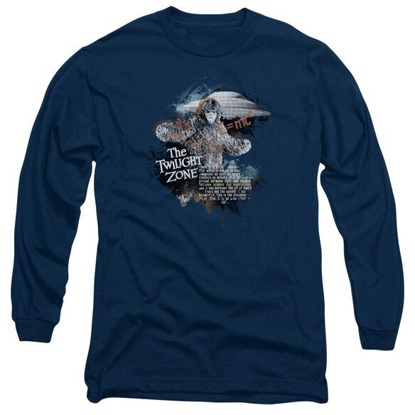 Twilight Zone Science&Superstition Long Sleeve Adult T-Shirt
