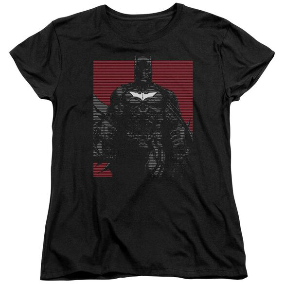 Dark Knight Rises Bat Lines Short Sleeve Womens Tee T-Shirt