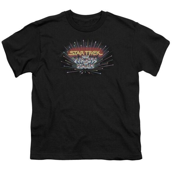 Star Trek Khan Logo Short Sleeve Youth T-Shirt
