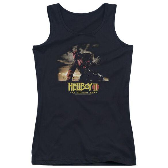 Hellboy Ii Poster Art Juniors Tank Top