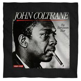 John Coltrane Smoker Bandana White