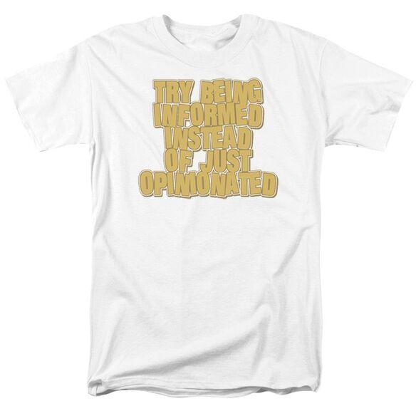 Informed Short Sleeve Adult T-Shirt
