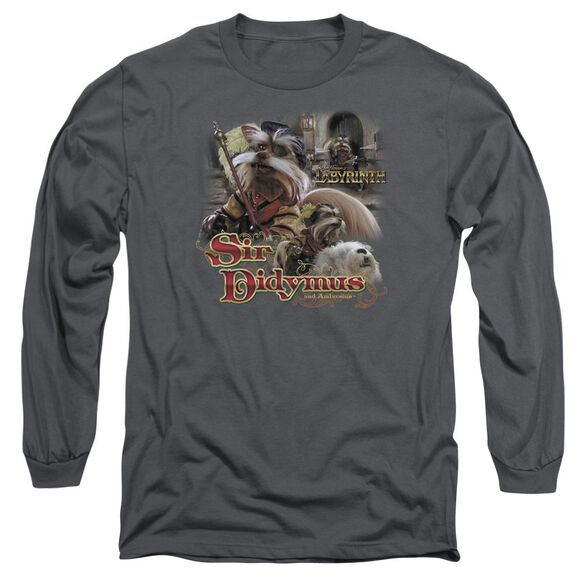 Labyrinth Sir Didymus Long Sleeve Adult T-Shirt
