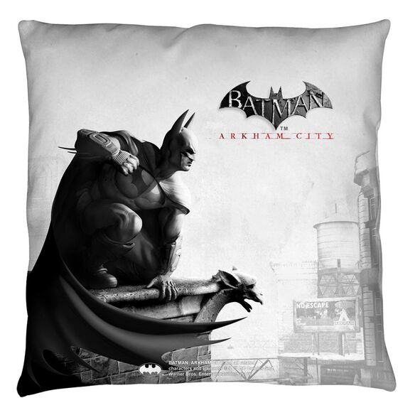 Batman Arkham City Ac Logo Throw