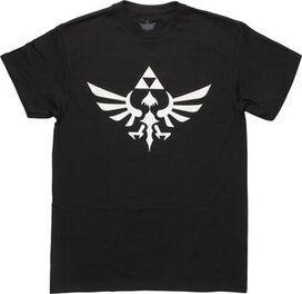 Zelda White Skyward Crest T-Shirt