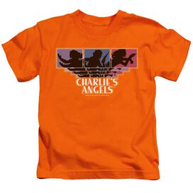 Charlies Angels Tri Color Angels Short Sleeve Juvenile T-Shirt