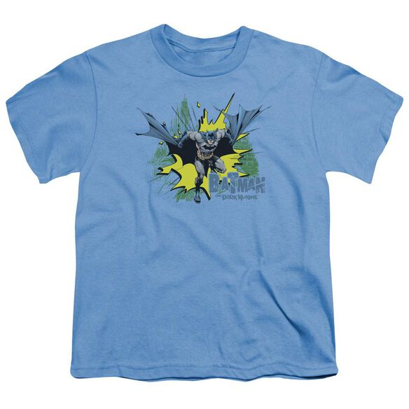Batman City Splash Short Sleeve Youth Carolina T-Shirt