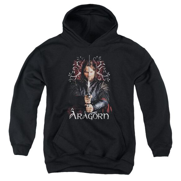 Lor Aragorn Youth Pull Over Hoodie
