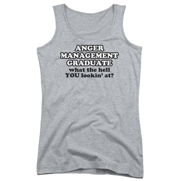 Anger Management Juniors Tank Top Athletic