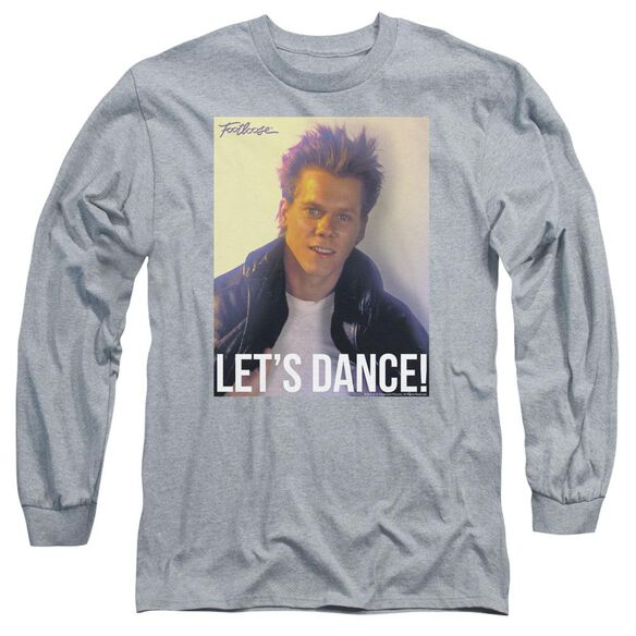 Footloose Lets Dance Long Sleeve Adult Athletic T-Shirt