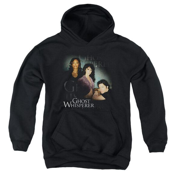 Ghost Whisperer Diagonal Cast Youth Pull Over Hoodie