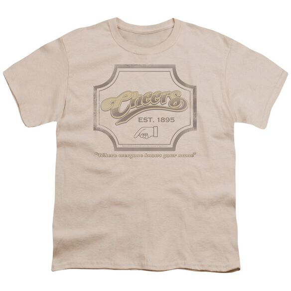 CHEER IGN - S/S YOUTH 18/1 - CREAM T-Shirt