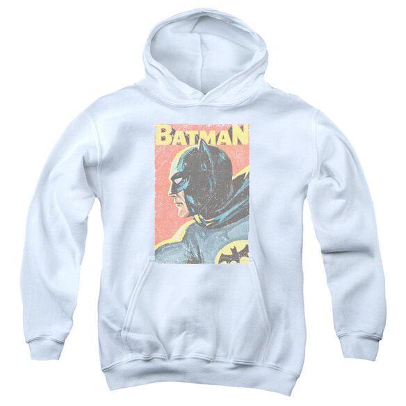 Batman Classic Tv Vintman Youth Pull Over Hoodie