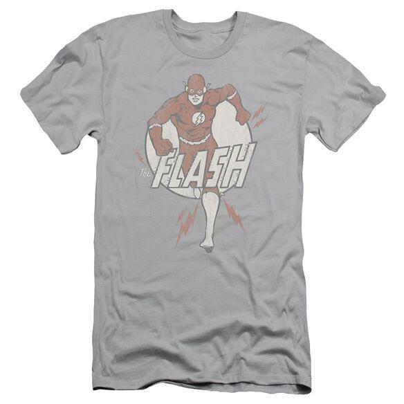 Dc Lightning Fast Short Sleeve Adult T-Shirt