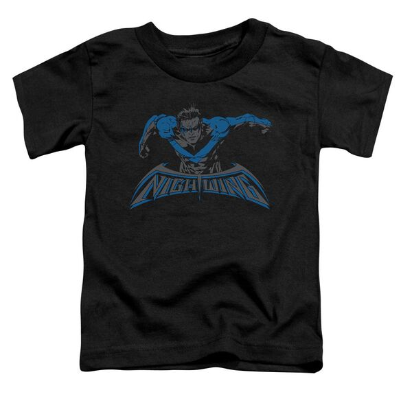 Batman Wing Of The Night Short Sleeve Toddler Tee Black T-Shirt