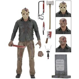 """NECA Friday the 13th Ultimate Part 4 Jason 7"""" Action Figure"""