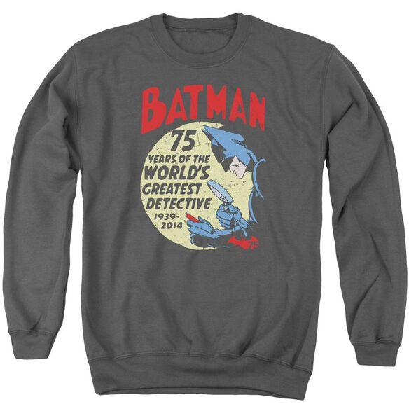 Batman Detective 75 Adult Crewneck Sweatshirt