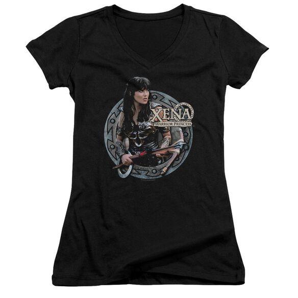 Xena The Warrior Junior V Neck T-Shirt