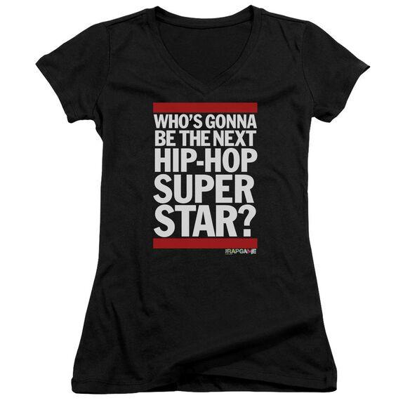 The Rap Game Next Hip Hop Superstar Junior V Neck T-Shirt