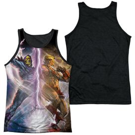 Masters Of The Universe Strike Adult Poly Tank Top Black Back