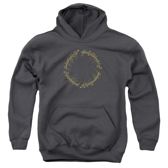 Lord Of The Rings One Ring Youth Pull Over Hoodie