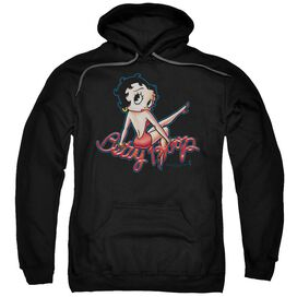 Betty Boop Betty'S Back Adult Pull Over Hoodie