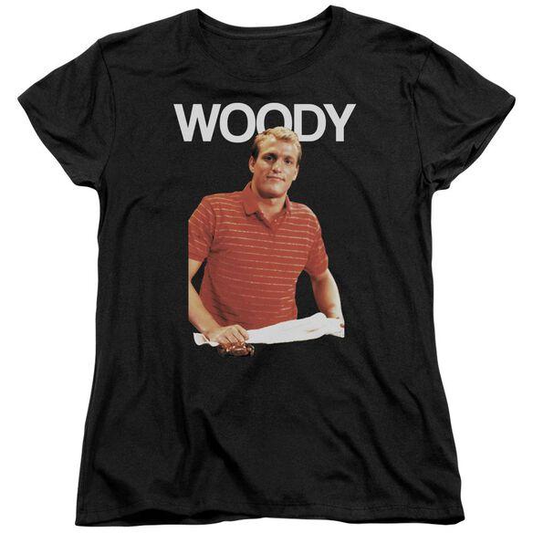 Cheers Woody Short Sleeve Womens Tee T-Shirt