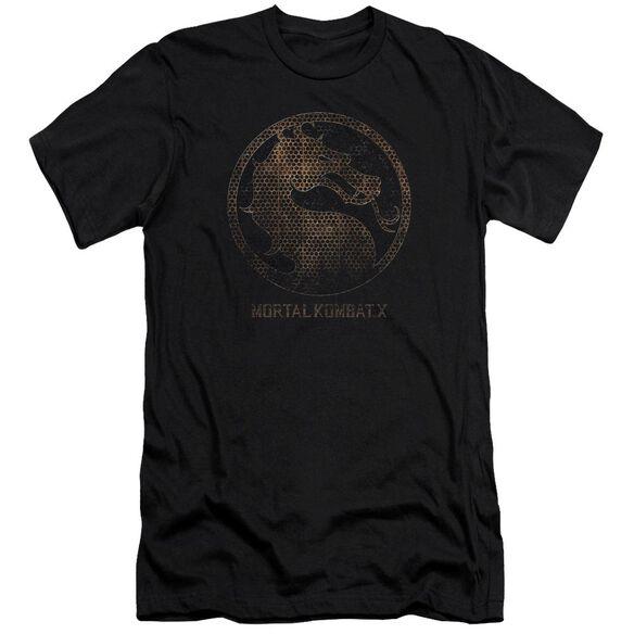 Mortal Kombat X Metal Seal Premuim Canvas Adult Slim Fit