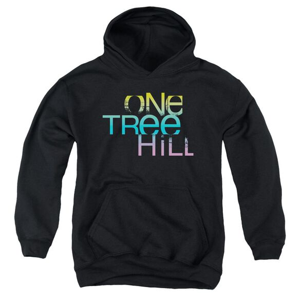 One Tree Hill Color Blend Logo Youth Pull Over Hoodie