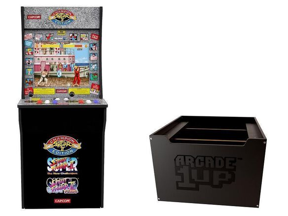 Arcade 1Up: Street Fighter & Riser Online Only Bundle