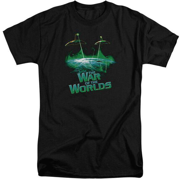 War Worlds Global Attack Short Sleeve Adult Tall T-Shirt