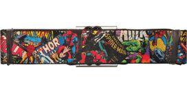 Marvel Comic Book Jumble Seatbelt Belt