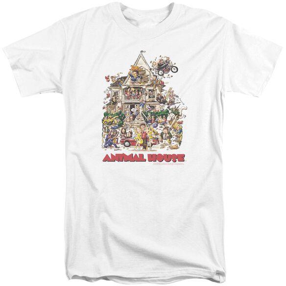 Animal House Poster Art Short Sleeve Adult Tall T-Shirt