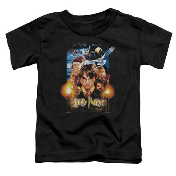 Harry Potter Movie Poster Short Sleeve Toddler Tee Black T-Shirt