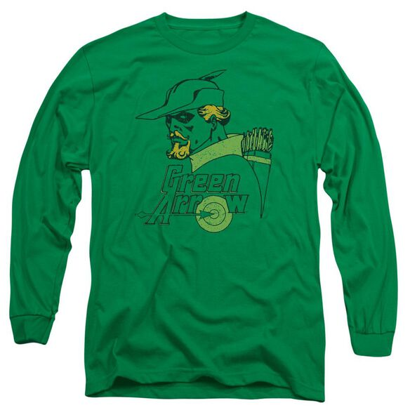 Dc Close Up Long Sleeve Adult Kelly T-Shirt