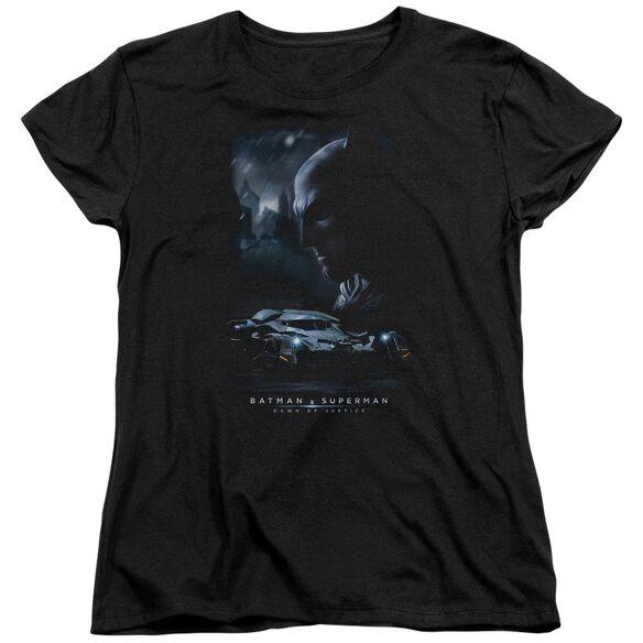Batman V Superman Gotham Knight Short Sleeve Womens Tee T-Shirt