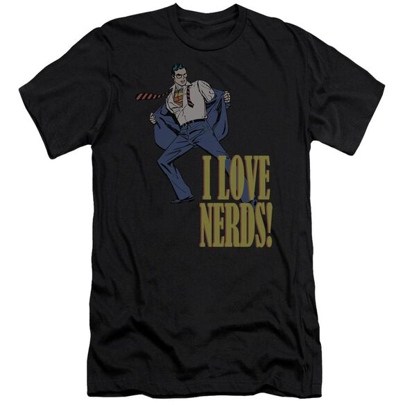 Dc I Love Nerds Short Sleeve Adult T-Shirt