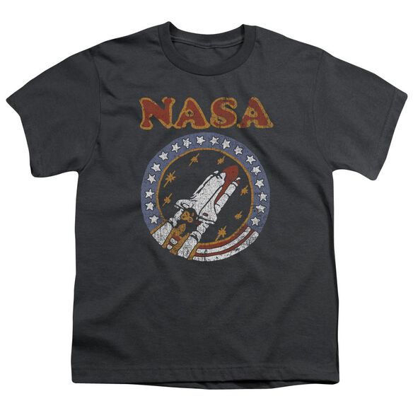 Nasa Retro Shuttle Short Sleeve Youth T-Shirt