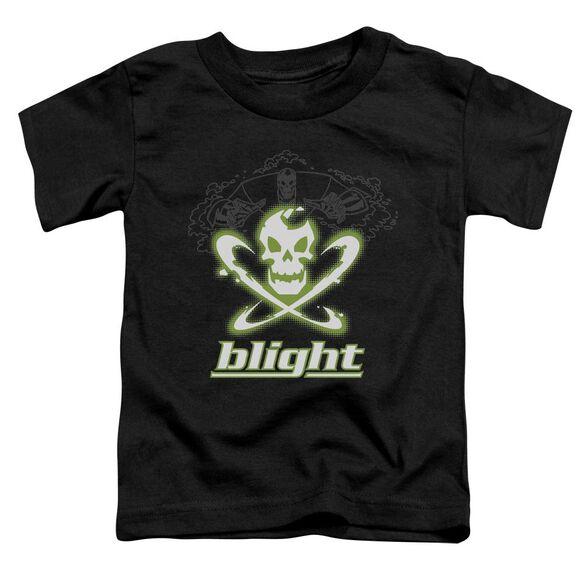 Batman Beyond Blight Short Sleeve Toddler Tee Black Sm T-Shirt