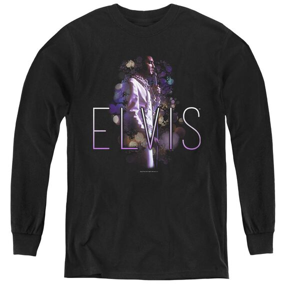 Elvis Presley Dream State - Youth Long Sleeve Tee - Black