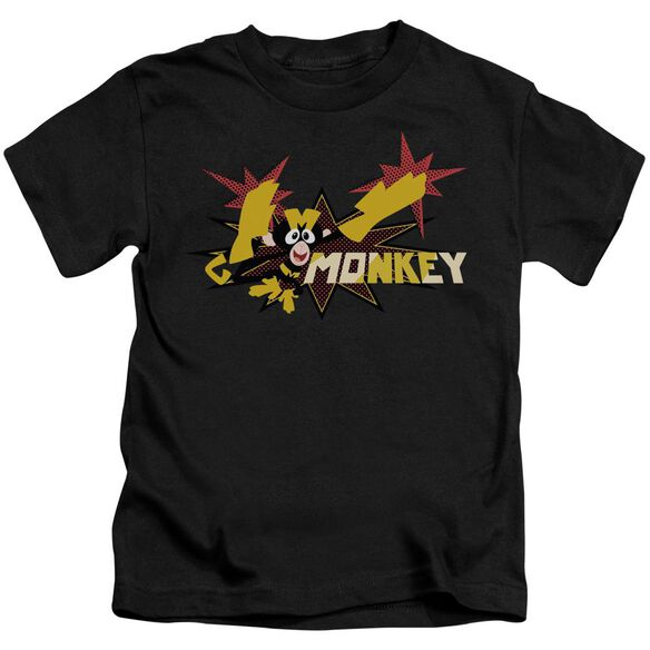 Dexters's Laboratory Monkey Short Sleeve Juvenile T-Shirt