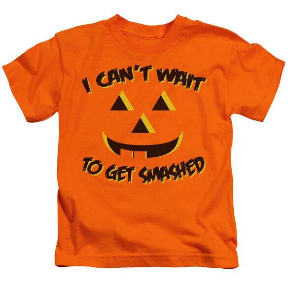 Get Smashed Short Sleeve Juvenile Orange T-Shirt