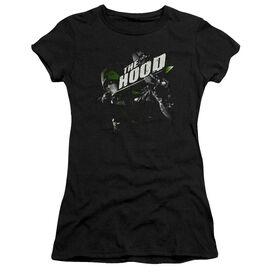 Arrow Take Aim Short Sleeve Junior Sheer T-Shirt