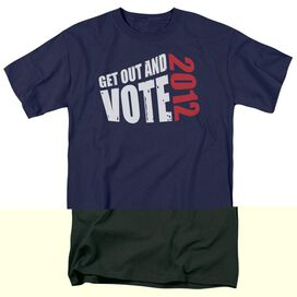 GET OUT AND VOTE - ADULT 18/1 - NAVY T-Shirt