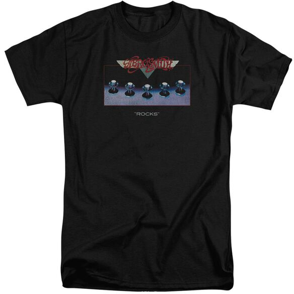 Aerosmith Rocks Short Sleeve Adult Tall T-Shirt