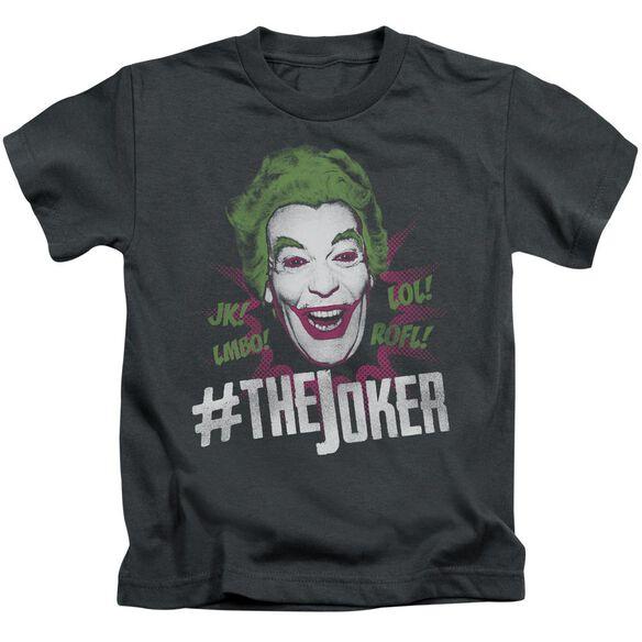 Batman Classic Tv #Joker Short Sleeve Juvenile T-Shirt
