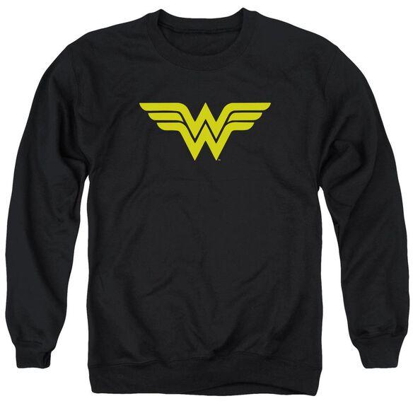Dc Wonder Woman Logo Adult Crewneck Sweatshirt