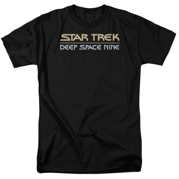 Star Trek Deep Space Nine Logo Short Sleeve Adult T-Shirt